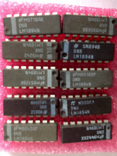 LM1894N DNR-DNL IC noise reduction