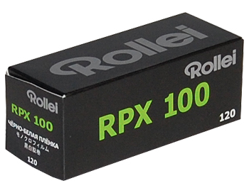 Rollei RPX 100_120 roll film pack of 7 pcs. plus RPX-D