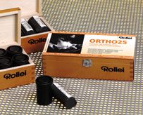 Rollei Ortho 25_long lenght (for 18 films)