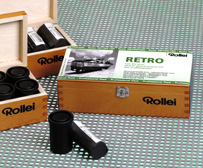 Rollei Retro 400S-120 roll film
