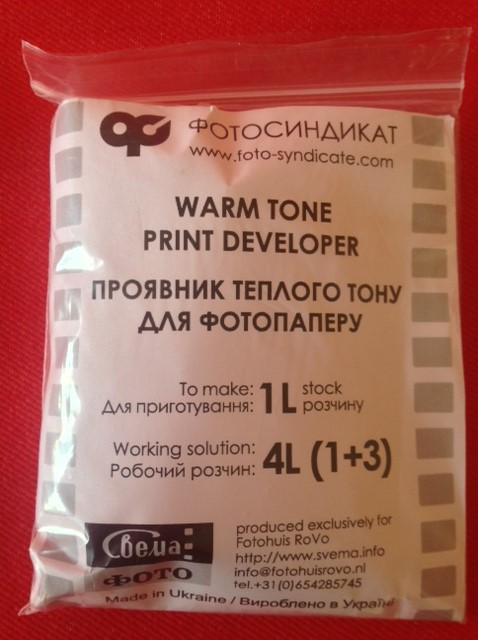 ID-78 warm tone paper developer (powder) for 1 ltr.
